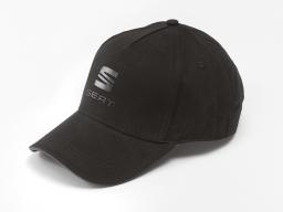 Original SEAT Base Cap schwarz  Basketball Mütze Schirmmütze Einheitsgröße