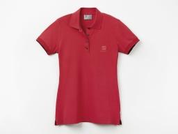 Original SEAT Damen Polo Shirt Poloshirt Polohemd, rot, Größe M