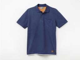 Original SEAT Herren Polo Shirt, blau, Größe L