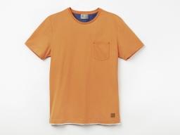 Original SEAT Herren T Shirt mit Logo, Farbe orange, Größe S
