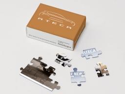 Original SEAT Kinder Puzzle