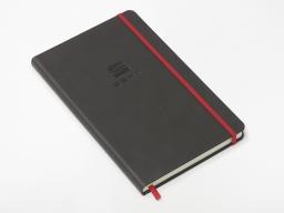 Original SEAT Notizbuch Skizzenbuch schwarz/rot mit SEAT Logo