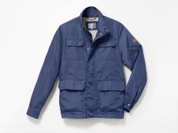Original SEAT Herren Jacke Feldjacke Field Jacket Windbreaker Anorak, blau, XL